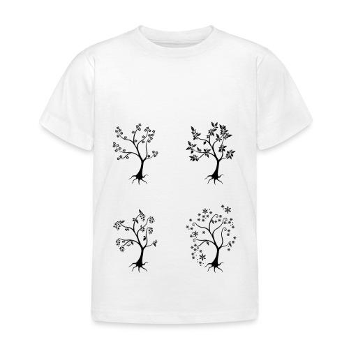 Vuodenajat - Lasten t-paita