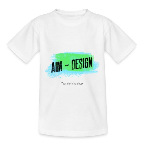 Aim Design - Kinder T-Shirt