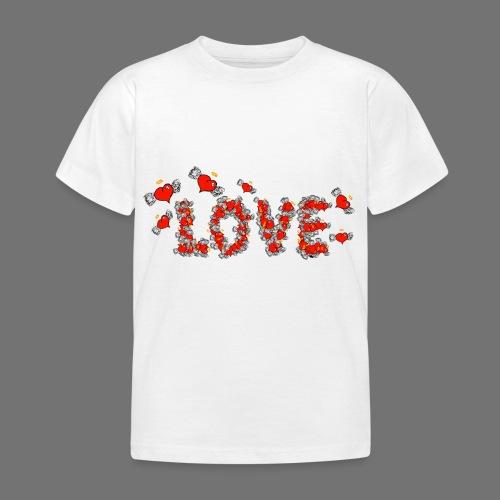 Flying Hearts LOVE - Kids' T-Shirt