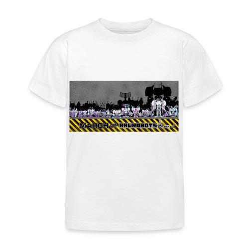 #MarchOfRobots ! LineUp Nr 2 - Børne-T-shirt