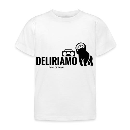 DELIRIAMO CLOTHING (GdM01) - Maglietta per bambini