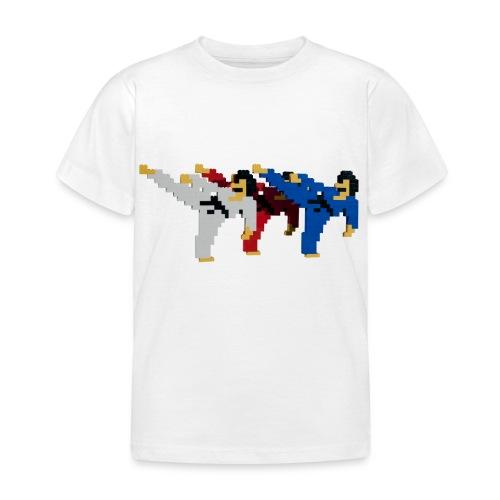 8 bit trip ninjas 2 - Kids' T-Shirt