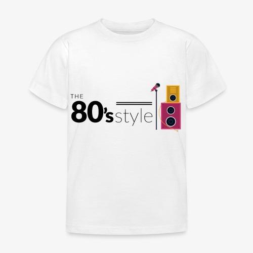 80s - Camiseta niño
