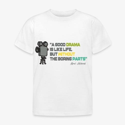Pasión por el cine - Camiseta niño