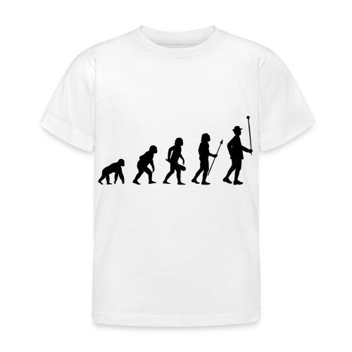 Stabführer Evolution - Kinder T-Shirt
