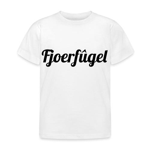 fjoerfugel - Kinderen T-shirt