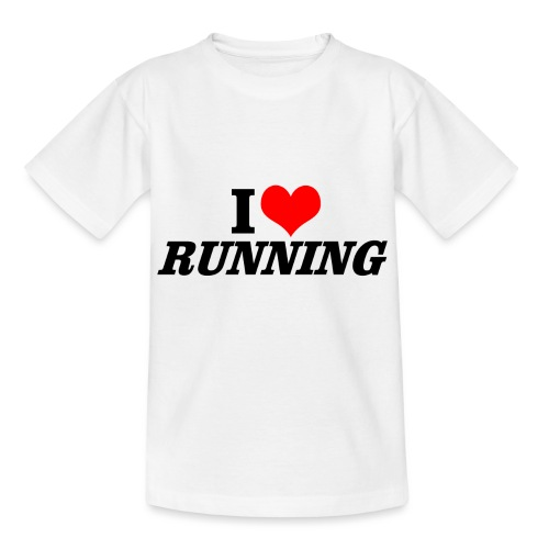 I love running - Kinder T-Shirt