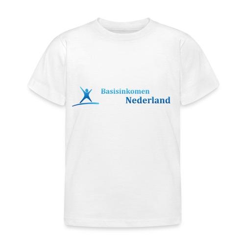Logo Basisinkomen Nederland 2 - Kinderen T-shirt