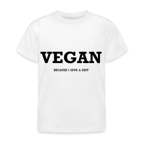 Vegan - T-shirt Enfant
