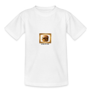 burger bun. - Kids' T-Shirt