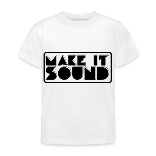 MAKE IT SOUND UMEÅ - T-shirt barn