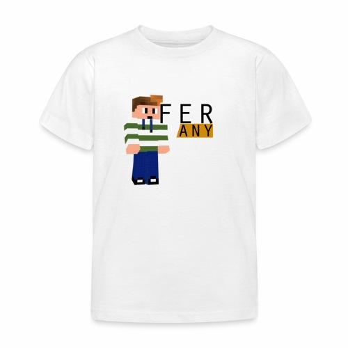 MinecraftFeranyLogo - Kinderen T-shirt