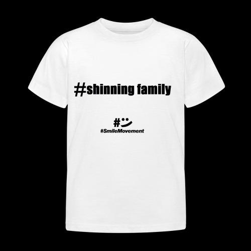 shinning family - T-shirt Enfant
