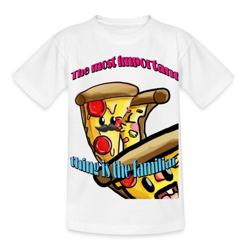 the most important thing is the familiar - Camiseta niño