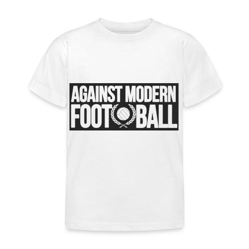 #AgainstModernFootball - T-shirt barn