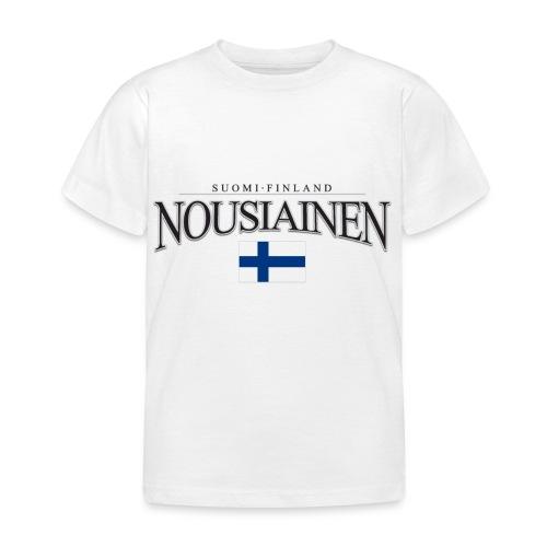 Suomipaita - Nousiainen Suomi Finland - Lasten t-paita