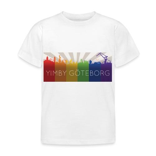 Yimby regnbågs-Tshirt - T-shirt barn