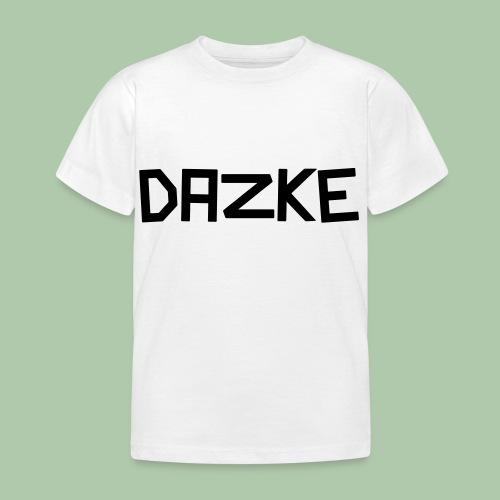 dazke_bunt - Kinder T-Shirt
