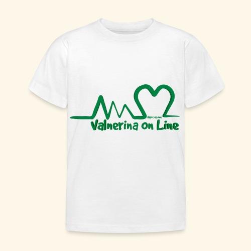 logo verde Associazione Valnerina On line - Maglietta per bambini