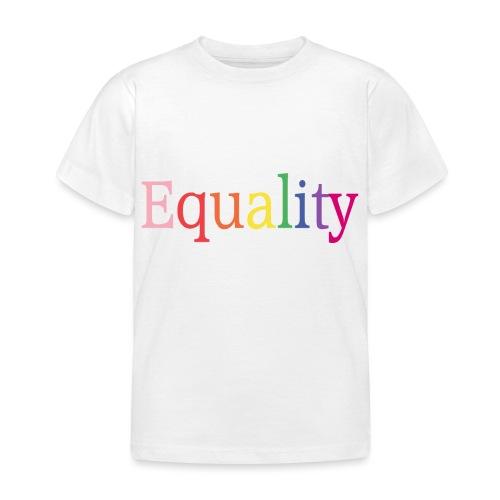 Equality | Regenbogen | LGBT | Proud - Kinder T-Shirt