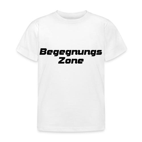 Begegnungszone - Kinder T-Shirt