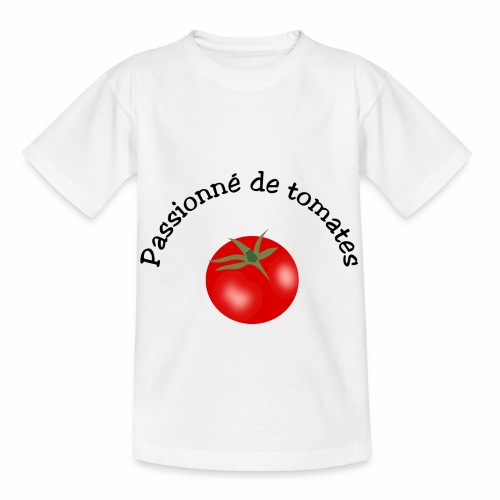 Tomate rouge - Kids' T-Shirt