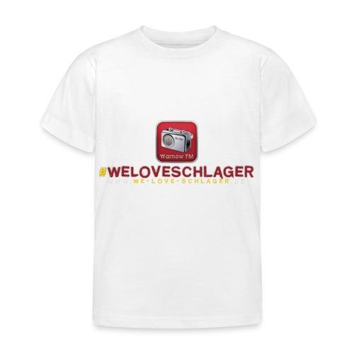 WeLoveSchlager de - Kinder T-Shirt