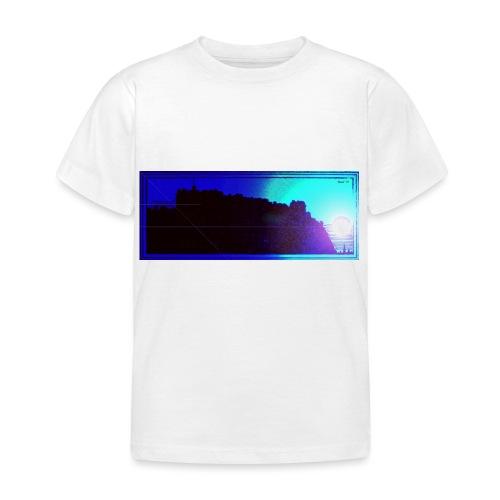 Silhouette of Edinburgh Castle - Kids' T-Shirt