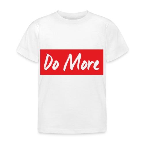 white logo color background - T-shirt Enfant