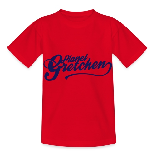 Planet Gretchen svart - T-shirt barn