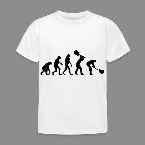 Evolution Rock - Camiseta niño