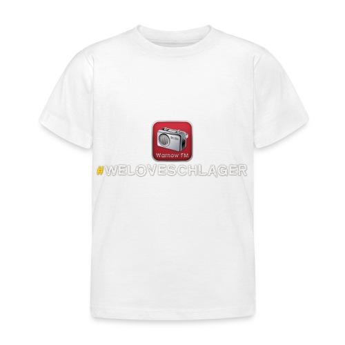 WeLoveSchlager 1 - Kinder T-Shirt