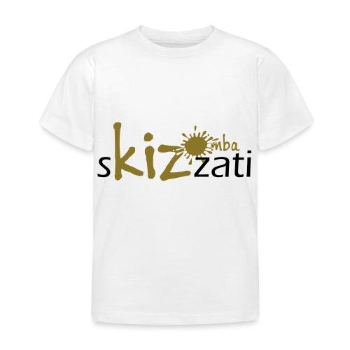 Beanie in jersey con logo sKizzati Kizomba - Verde - Maglietta per bambini