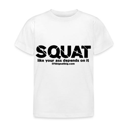 squat - Kids' T-Shirt