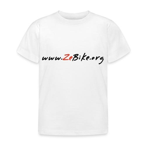 wwwzebikeorg s - T-shirt Enfant
