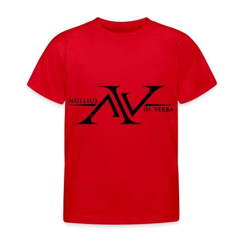 Nullius In Verba Logo - Kids' T-Shirt