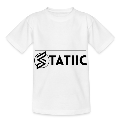 statiic design png - Kids' T-Shirt