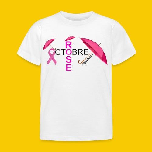 OCTOBRE ROSE 2018 - T-shirt Enfant