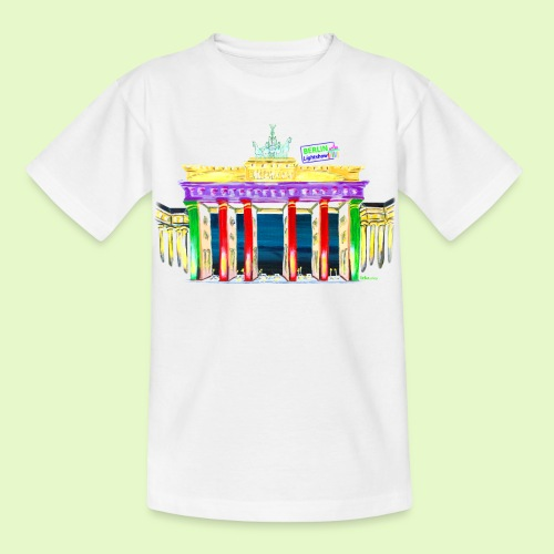 Neu! Brandenburger Tor/BerlinLightShow Collection - Kinder T-Shirt