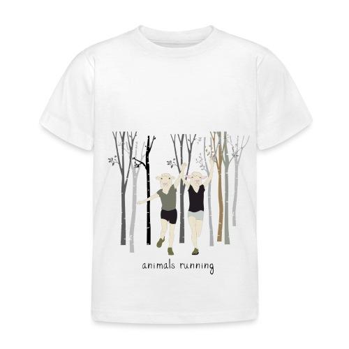 Moutons running - T-shirt Enfant