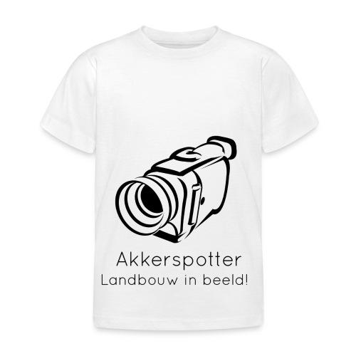 Logo akkerspotter - Kinderen T-shirt