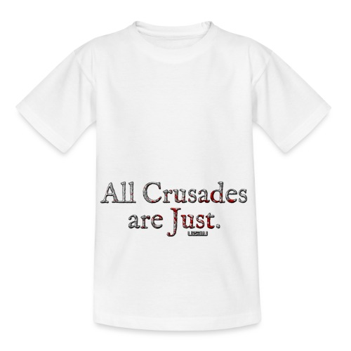 All Crusades Are Just. - Kids' T-Shirt