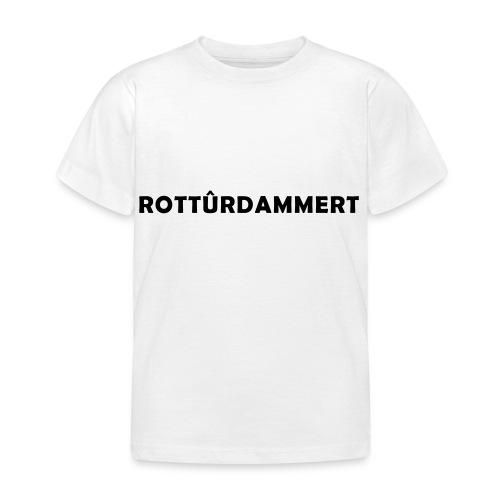 Rotturdammert - Kinderen T-shirt
