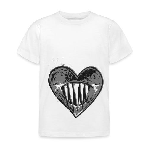 Corazón Negro - Camiseta niño