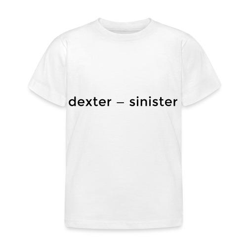 dexter sinister - T-shirt barn
