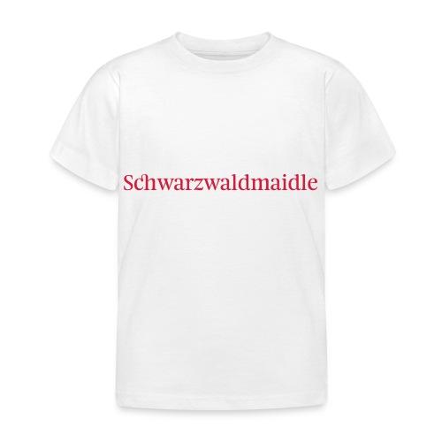 Schwarzwaldmaidle - T-Shirt - Kinder T-Shirt