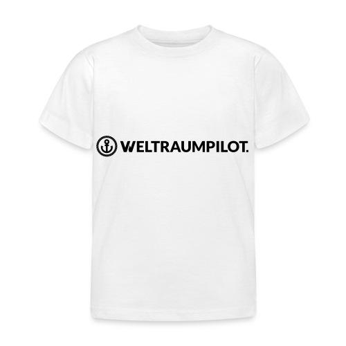 weltraumpilotquer - Kinder T-Shirt