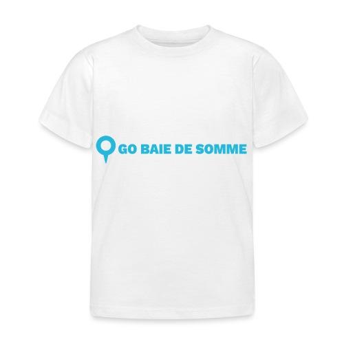 LOGO Go Baie de Somme - T-shirt Enfant