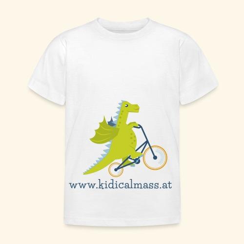 Musikdrache für hellen Hintergrund - Kinder T-Shirt