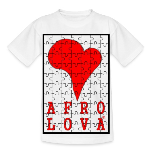 puzzle Afro Lova - T-shirt Enfant